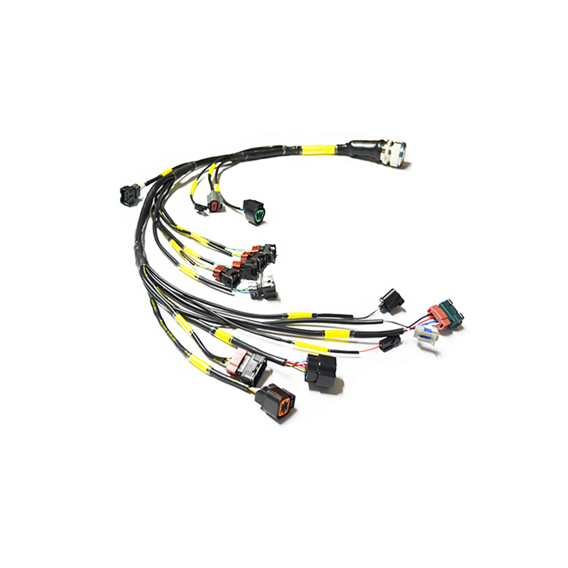 stage 3 mil spec engine harness 95 99 2g dsm www ohm racing com rh ohm racing com 4 Gauge Wire 14 Gauge Wire