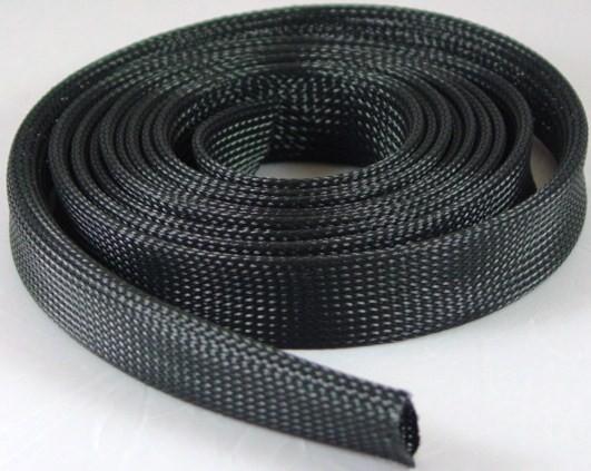 techflex braided expandable sleeving  u201cnylon u201d  better than dual wire harness