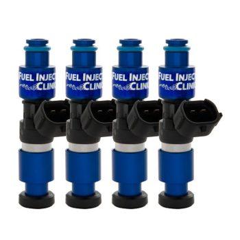 Fuel Injector Clinic 2150cc DSM or Evo 8/9 BlueMAX Injector Set (High-Z)