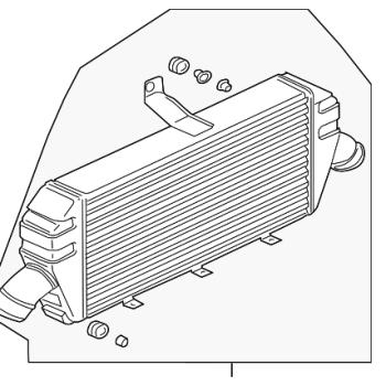 OEM Intercooler & Intake (Evo 8-9)