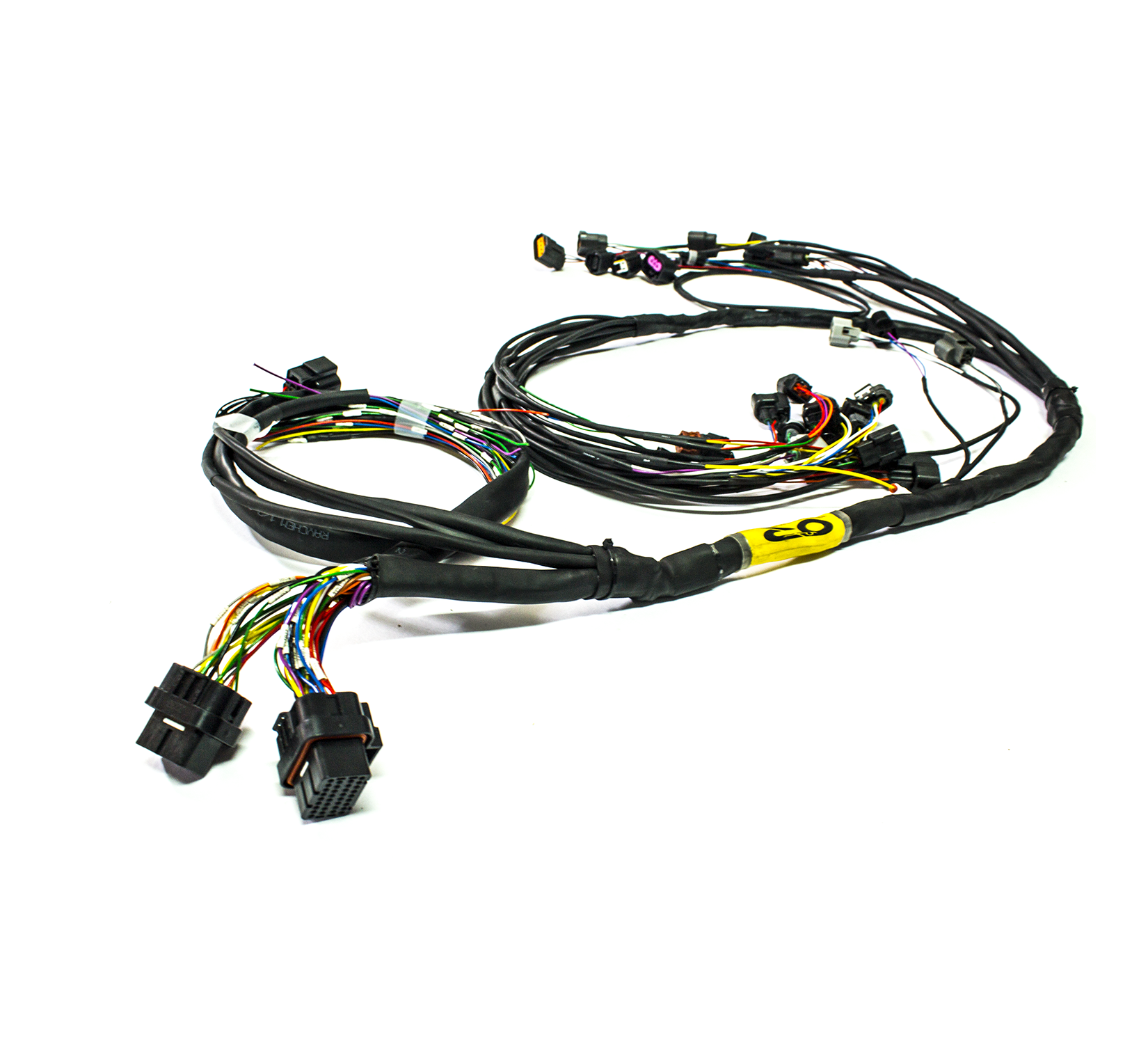 "EVO X ""Tucked"" Mil-Spec harness (MT) Harness Wire Tuck Evo X on"