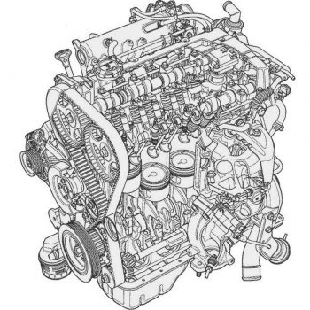 OEM Engine parts (Evo 8-9)