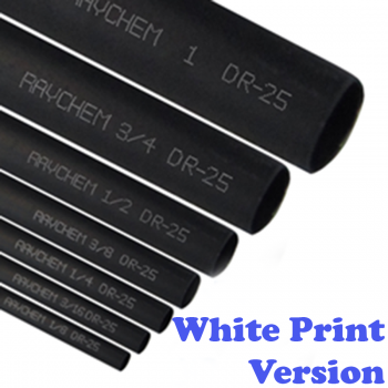 Raychem DR-25 heat shrink loom