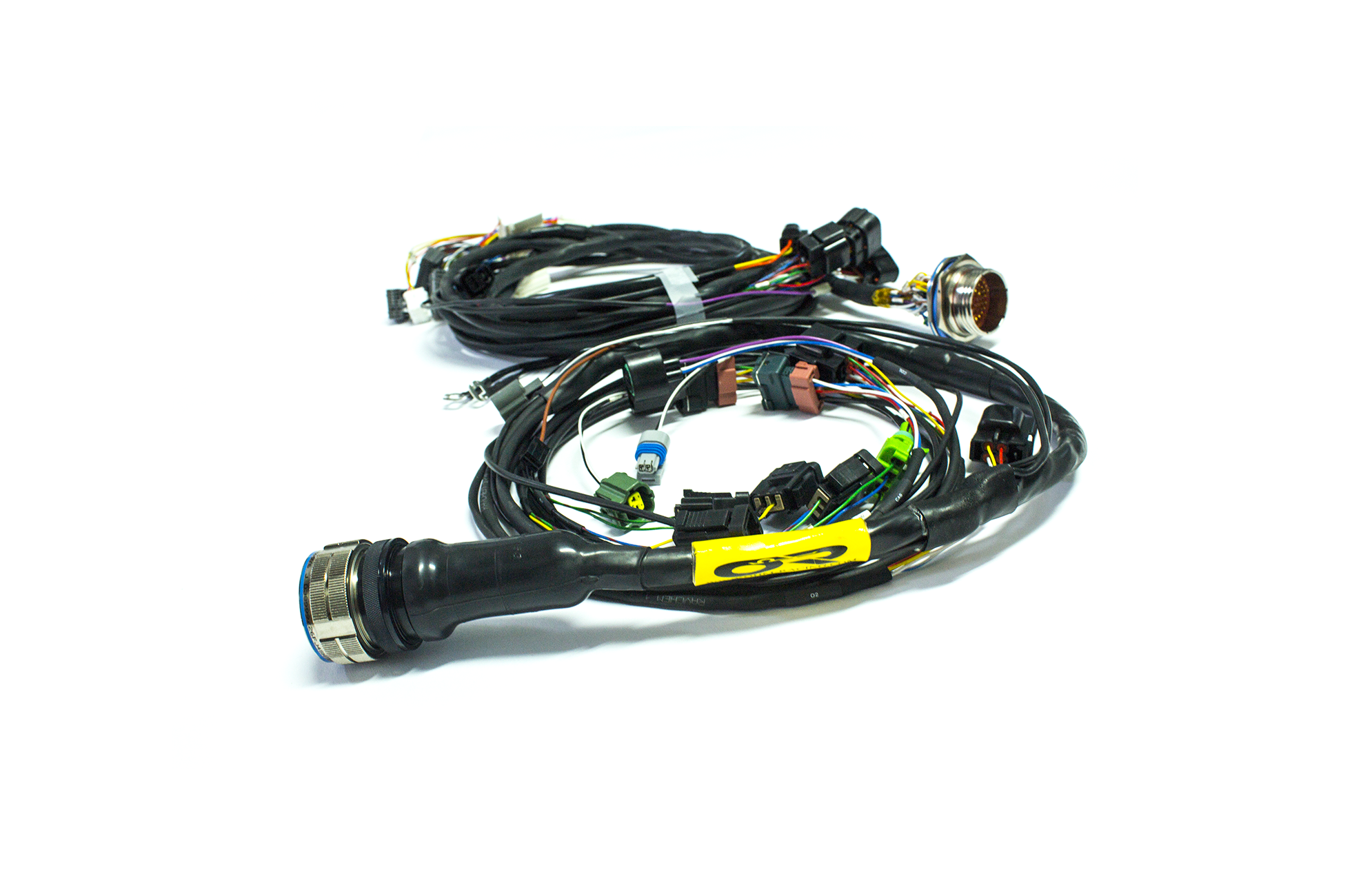 "[ZHKZ_3066]  95-99 2G DSM Plug & Play ""Tucked"" Mil-Spec Engine Harness –  www.ohm-racing.com 