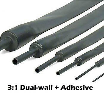 3:1 Dual-Wall Adhesive Lined Heat Shrink Tubing