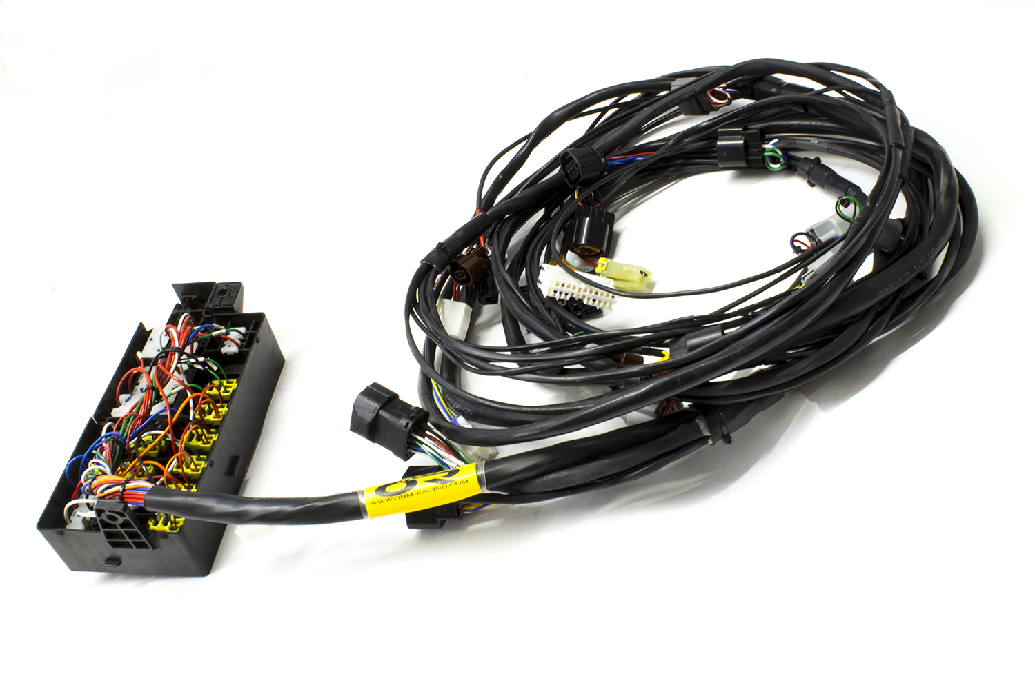 "2G DSM 95-99 Eclipse ""Tucked"" Mil-spec Fuse-box Relocated Harness –  www.ohm-racing.comOHM Racing"