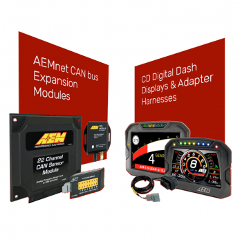 CD Digital Dash Displays, Adapter Harnesses & CAN Expansion Modules